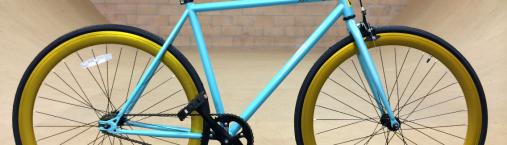 Sky Blue Bike